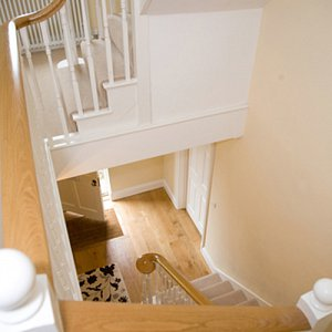 Luxurious extra width stairs